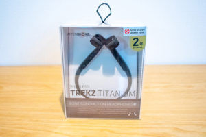 AfterShokzの骨伝導ヘッドホン【TREKZ TITANIUM】