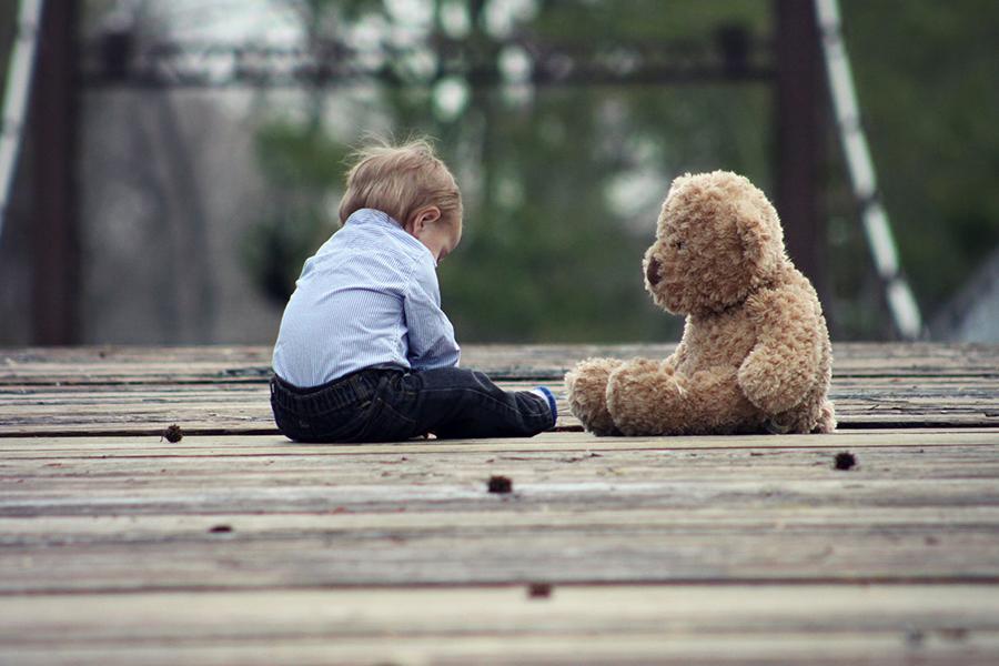 子供撮影のコツ1.子供目線で撮影する