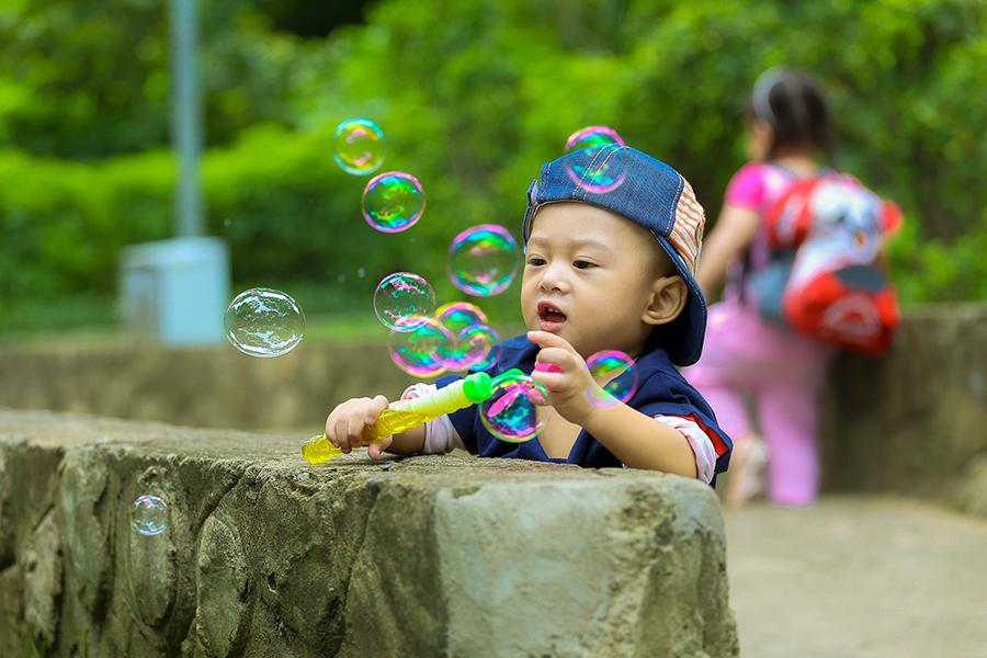 子供撮影のコツ4.小物を使う