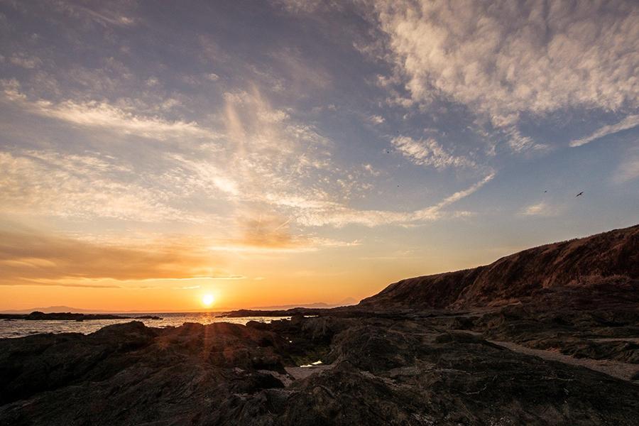 夕日スポット④ 城ヶ島